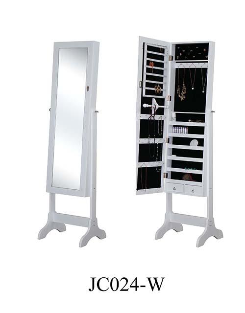 木制镜面珠宝柜 JC024-W