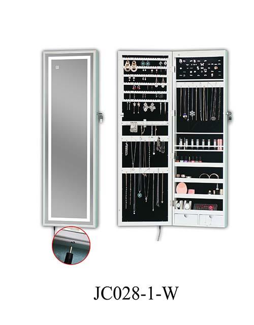 热卖珠宝立式收纳柜  JC028-1-W