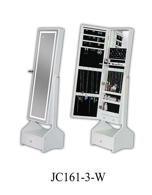工厂木饰品梳妆柜 JC161-3-W